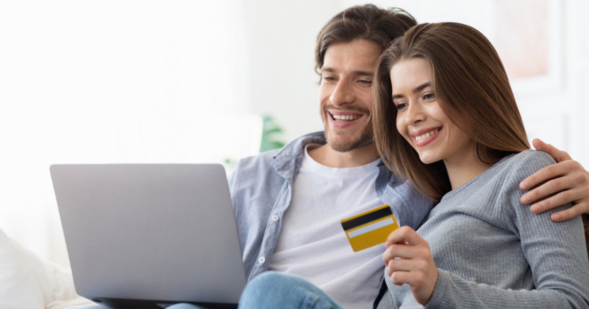 Young couple is ready to get started with Billforward's subscription billing platform since they found out it includes quickbooks integration