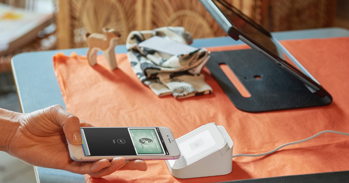 Business using square to accept more payment methods